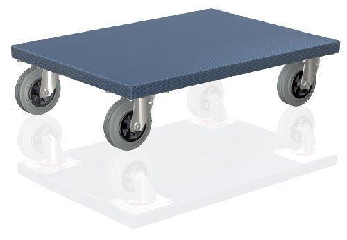 Scooter Di Xl Mobili Fabbricati In Germania 600 X 500 X 165 Mm Con Ruote Piroettanti In Gomma Rullo, 300 Kg Di Capacità - Cane Di Trasporto A Rulli Skateboard Mobili Di Sollevamento