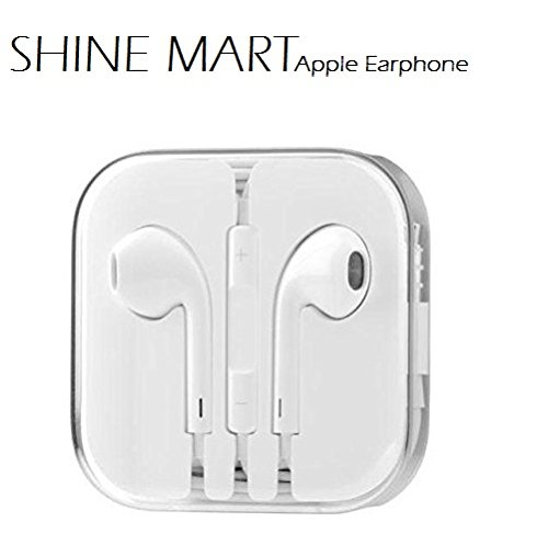 Apple iPhone 6 Plus 64GB Orignal Comfortable Wired Headset Bass Stereo Headphone & Earpods 3.5mm With Remote & Mic Control BY SHINE MART  available at amazon for Rs.199