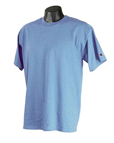 Champion T425 Adult Short-Sleeve T-Shirt Hellblau