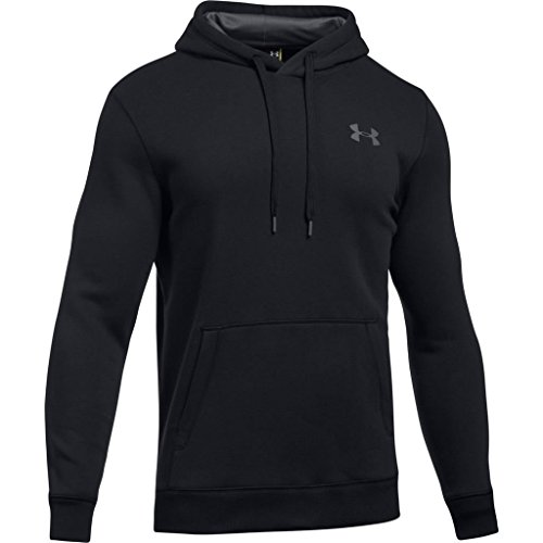 Under Armour Herren Rival Fitted Pull Over Oberteil, Schwarz, LG