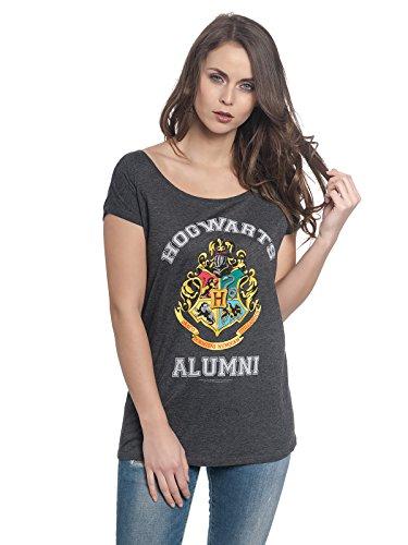 HARRY POTTER Alumni T-Shirt dunkelgrau meliert L