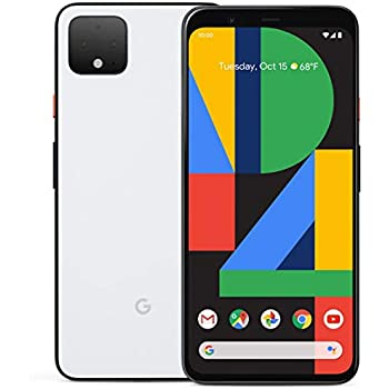 Google Pixel 4 XL 64GB Handy, weiß, Clearly: Amazon.de