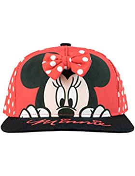 Disney Gorra para niñas Minnie Mouse Talla única