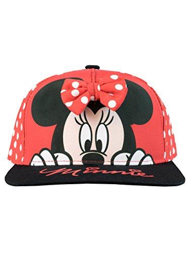 Disney Mädchen Minnie Mouse Baseball Kappe Einheitsgröße Disney Mädchen Minnie Mouse