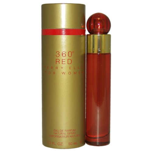 360 Red by Perry Ellis for Women 1 7 Ounce EDP Spray by Perry Ellis