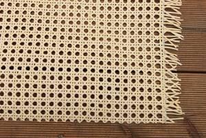 rattan-petrak 1 lfd. Meter Wiener Geflecht, Wabengeflecht, Heizkörperverkleidung, Flechtgewebe aus Peddigschienen, beizbar/lackierbar (90 cm breit)