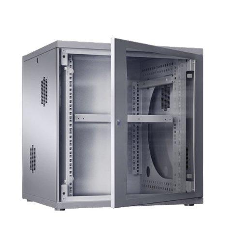 Rittal 8238348 DK 7507.120 DK7507120 Flatbox 12HE, Grau