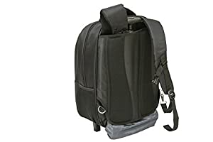 """City Bag Hybrid Laptop Trolley Wheeled Backpack Rolling 15.4"""" Computer Bag Hand Luggage by City Bag"""