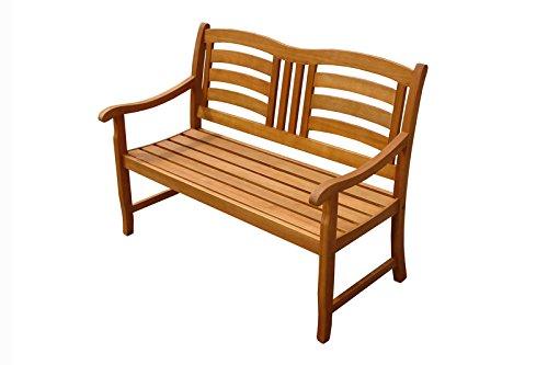 Indoba Gartenbank, 2-Sitzer 'Montana' - Serie Montana, braun, 120 x 65 x 91 cm, IND-70287-GB2