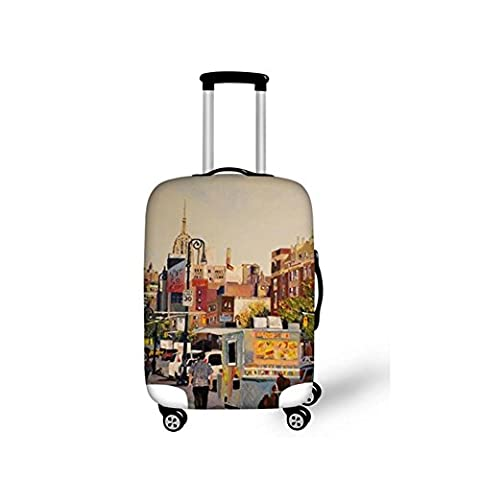 Halloween Travel Luggage Cover 3D Fashion Originality Wear-resisting Elastic force Thickening Dustproof Scratch-resistant Suitcase Protective Cover Multiple patterns Fits 18-28 inch , 19 ,