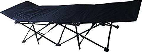 WFS Heavy Duty Folding Collapsible Camping Cot by WFS