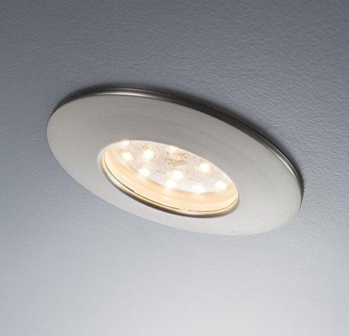 LED Einbaustrahler LED Spot 3 er Set inkl. 3 x 5W Badezimmer ...