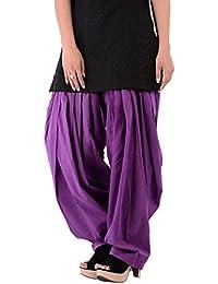 Kurti Studio Women Light Purple Semi Patiala Salwar