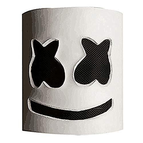 papaxiong Marshmello DJ Party Maske Full Head Helm Halloween Cosplay Maske Bar Musik Requisiten