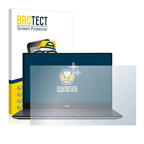 BROTECT Entspiegelungs-Schutzfolie kompatibel mit Dell XPS 15 9560 (1 Stück) - Anti-Reflex, Matt