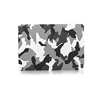 Charles Camouflage Pattern PC Laptop Hard Case Cover Protective Shell for Apple MacBook Air 11.6 Inch - Grau