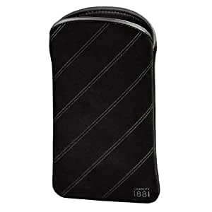 Cerruti 1881 Velvet Handy-Sleeve Große L schwarz
