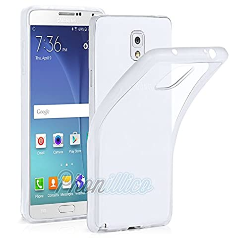 Phonillico® Coque Gel TPU Transparent pour Samsung Galaxy Note 3 LITE - Coque Housse Etui Protection Gel TPU Silicone Souple Ultra Mince Fine Slim Leger