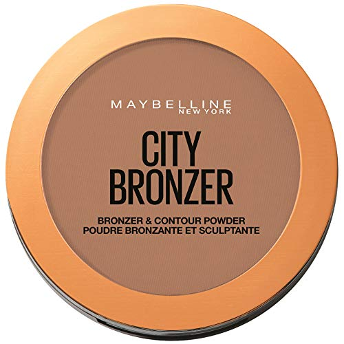 Maybelline New York Bronzante Puder, N°250°M, dunkel (Brush Finish Powder)