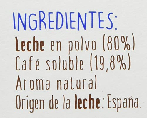 Central Lechera Asturiana Cápsulas de Café con Leche - 4 Paquetes de 16 Cápsulas - Total: 64 Cápsulas