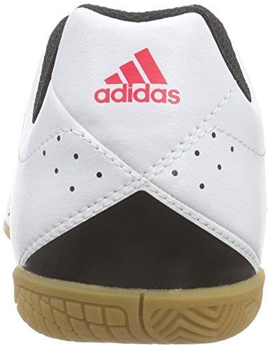 adidas Unisex-Kinder Goletto V in Fußballschuhe Weiß (Ftwr White/Night Met. F13/Shock Red S16)