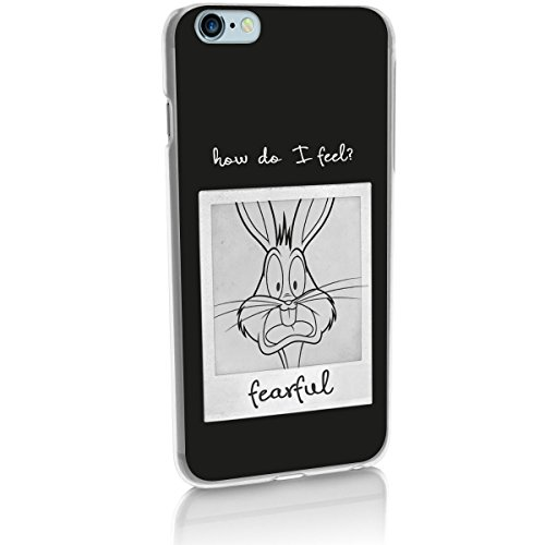 "Hardcase Looney Tunes ""How do i feel Série"" - Grumpy, Iphone 5/5S Peureux"