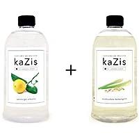 Kazis Duft-Set I Passend für Alle katalytischen Lampen I Zitrone + Lemongras I 2 x1 Liter I Nachfüll-Öl I 2 x... preisvergleich bei billige-tabletten.eu
