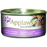 Applaws Cat Food Tin Mackerel and Sardine 24 x 70 g