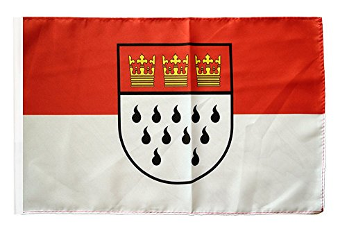 Flagge / Fahne Stadt Köln + gratis Sticker, Flaggenfritze®
