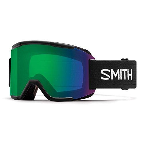 Smith Erwachsene Squad Skibrille, Black, One Size