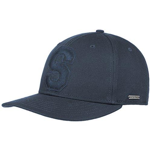 Casquette Capital S Cotton Stetson casquette casquette coton bleu fonce