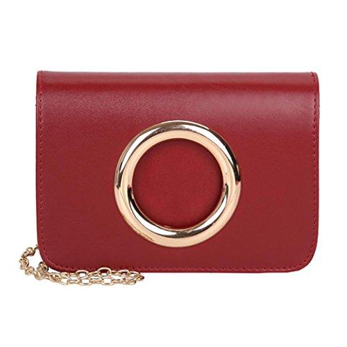 Große Förderung SANFASHION Fashion Women Leather Crossbody Bag Coin Bag Phone Bag Shoulder Bag