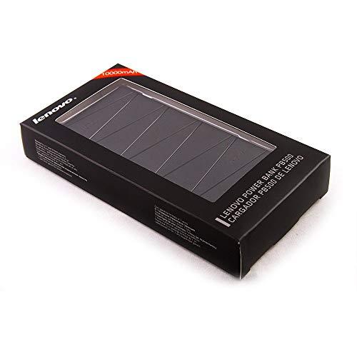 (Renewed) Lenovo PB500 Li-Polymer 10000mAH Power Bank (Black) Image 2