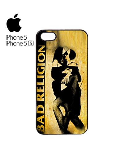 Bad Religion Kissing Nuns Sexy Mobile Cell Phone Case Cover iPhone 5c Black Blanc
