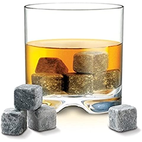 Epic Products Rock My Drink Natural Stone 9 Count Ice Cubes by Epic Products Inc. - Ice Stone