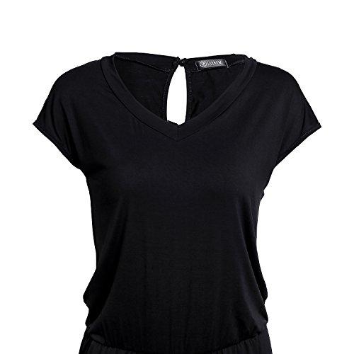 SUNNOW® Elegant Damen Jumpsuit Playsuit Casual - 5