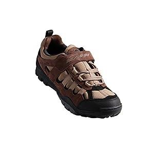 Massi Canyon - Zapatillas de ciclismo MTB unisex, color marrón, talla 40