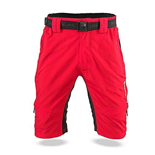 SILVINI Herren RANGO Mtb Hose Red-Black XL