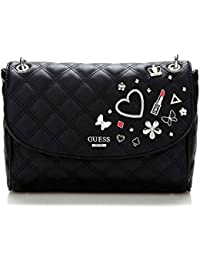 Guess Jewelry - Guessdarin convertible flap - bolso de mano - black
