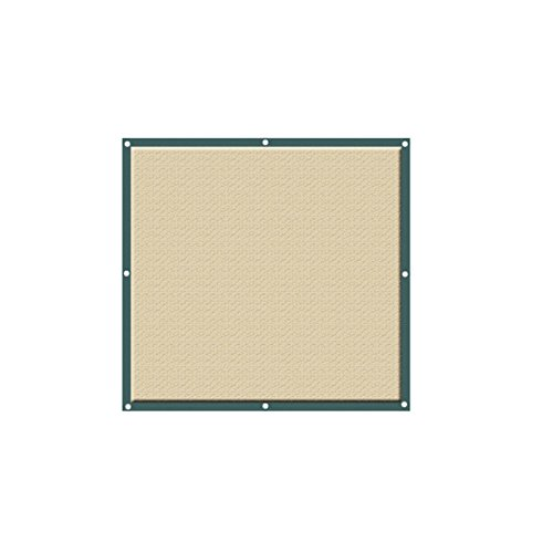lulalula Sonnensegel, quadratisch, 2 x 2 m, HDPE-Sonnenschutz – UV-Schutz für Terrasse, Garten,...