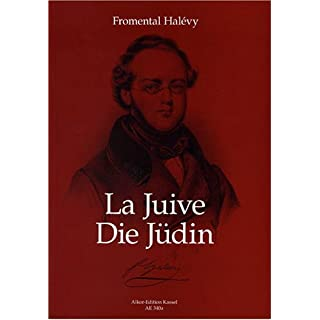 ALKOR-EDITION KASSEL HALEVY FROMENTAL - LA JUIVE - PIANO REDUCTION Classical sheets Voice solo, piano
