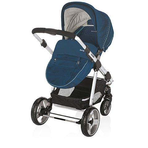 Preisvergleich Produktbild Kinderwagen Ovo Premium 297Avio Blu Brevi