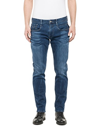 Replay - Anbass, Jeans Da Uomo, Blu (Blue Denim 9), W33/L30 (33)