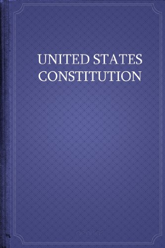 free kindle book The United States Constitution