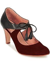 Femmes chaussures escarpin cuir model SAKURA par HGilliane Design Eu 33 au 44