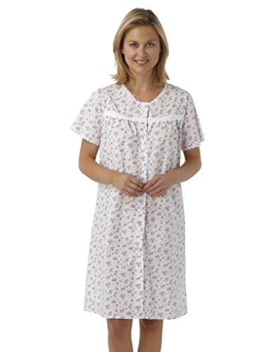 ladies-short-sleeved-poly-cotton-button-through-coat-nightdress-blue-pink-or-lilac-floral-sizes-10-1