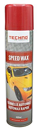 Techno Car Products Speed Wax Schneller Autowax Spray 400 ml