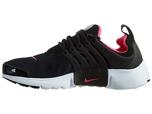 Nike Damen Presto (Gs) Laufschuhe Black (Schwarz / Hyper - Rosa-Weiß)