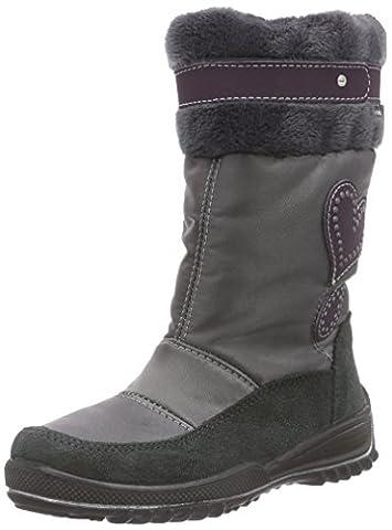 Ricosta Ranki, Mädchen Stiefel, Grau (grigio/patina 489), 32 EU (13 Kinder UK)