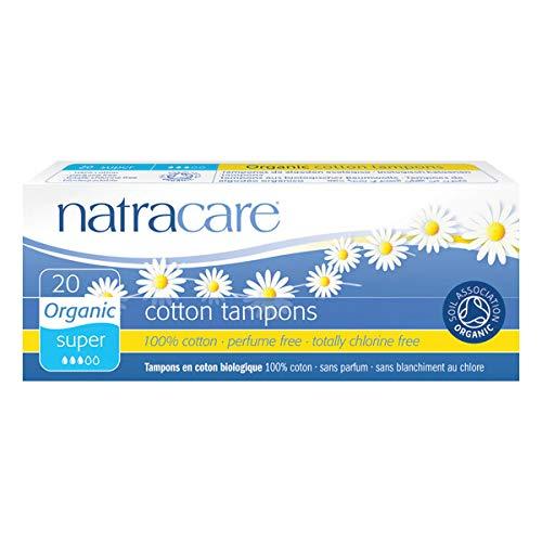 Natracare - Los Tampones Súper Sin Aplicador El Envase